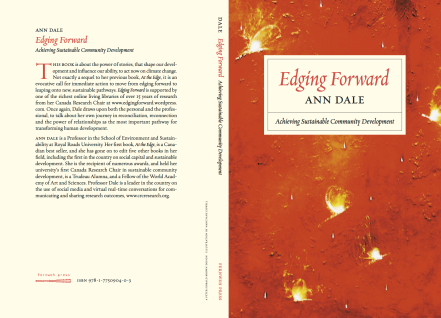 Edging Forward: Achieving Sustainable Community Development Book Cover by Ann Dale